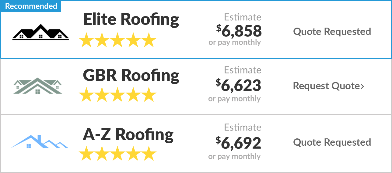 Your roofing estimates in seconds